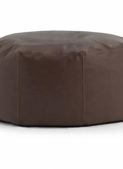 STOP Ottoman Brown Vegan Leather – Big Joe