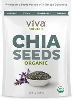 Viva Naturals Raw Organic Chia Seeds