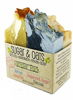 Sugar and Oats – Vegan Soap Gift Set