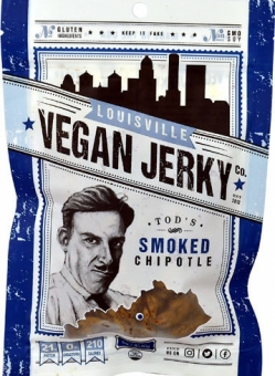 Louisville Vegan Jerky Gluten Free Smoked Chipotle