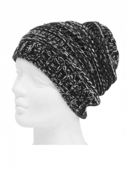 Mechaly Black Vegan Knit Beanie