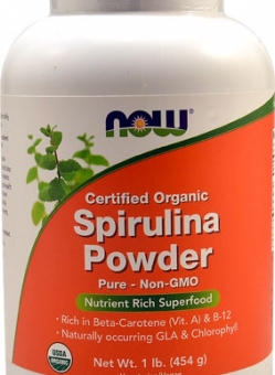 Organic Spirulina Powder by NOW