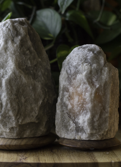 Rare Himalayan Grey Salt Light Set