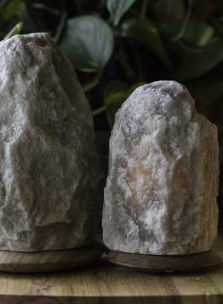 Rare Himalayan Grey Salt Light Set
