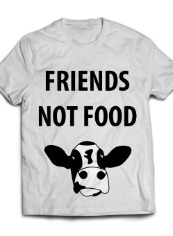 Unisex Friends Not Food T-Shirt