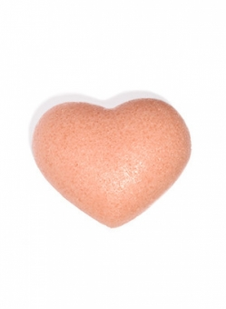 The Cleansing Sponge – Rose Clay Heart